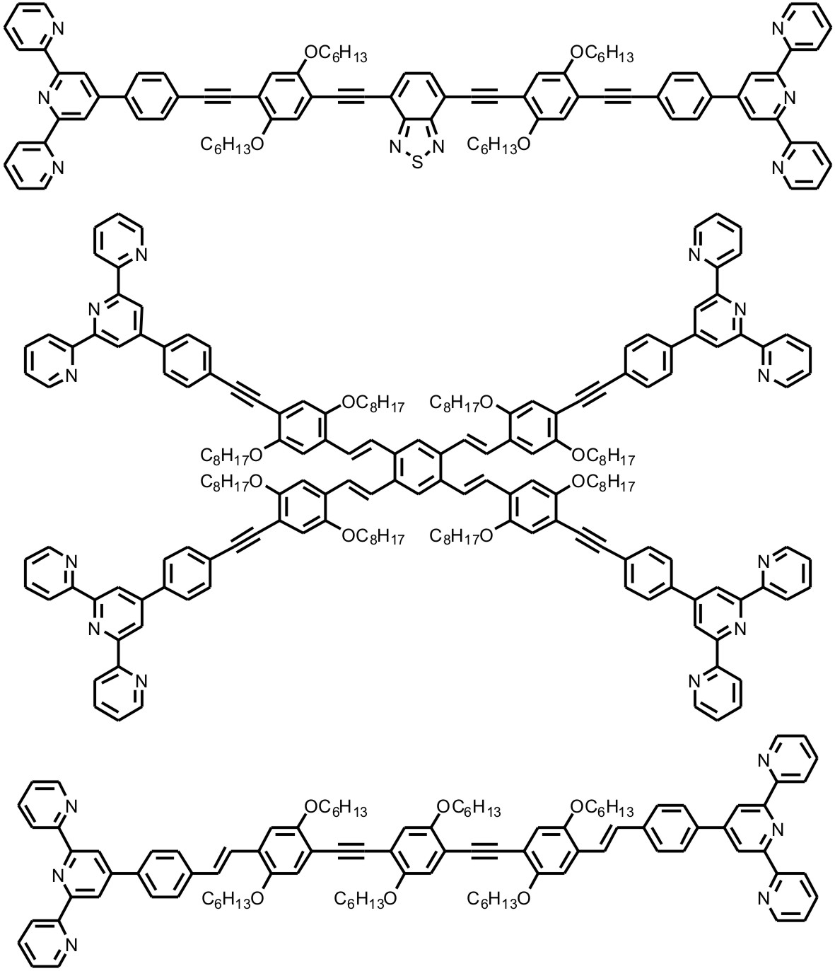 ORGN 288 - Rigid p-conjugated 2,2':6',2''-terpyridines: Synthesis ...